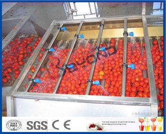 De Lijn van de tomatenverwerking