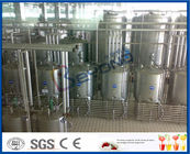 PLC Touch Screen Control Milk Products Manufacturing Machines For Pure Milk / UHT Milk / Long Shelf Life Milk