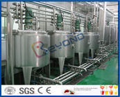 3000 - 20000BPH Beverage Production Line with SUS304 SUS316 Stainless Steel