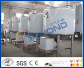 ISO9001 2000LPH Industrial Dairy Processing Plant For Milk Processing Line