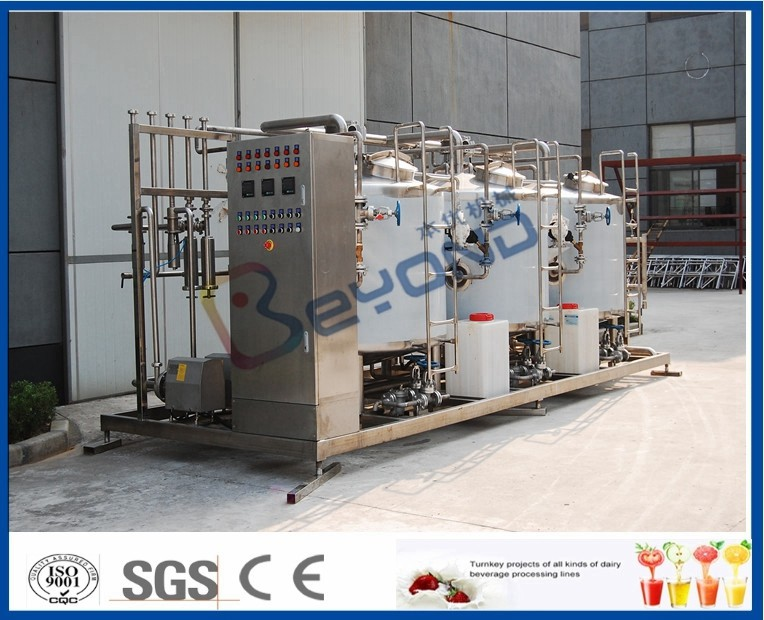Food Grede CIP Cleaning System For Cip Process In Dairy Plant 1000L - 10000L Tank Size