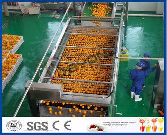 10TPH automatische Oranje de Verwerkingslijn die van het Jus d'orangeuittreksel voor Sap Fabriek maken